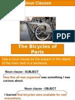 The Bicycles of Paris