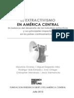 Extractivismo en CA