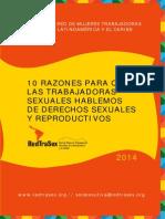 10 razones para que las trabajadoras sexuales hablemos de Derechos Sexuales y Reproductivos