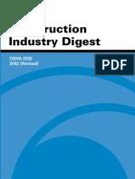 OSHA 2202 - Construction Industry Digest