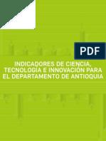 Boletin Indicadores de Ciencia Tecnologia e Innovacion