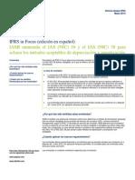 LATCO IFRS in Focus Mayo 2014 Enmiendas Depreciacion