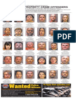 Most Wanted Property Crime Offenders