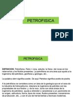 Clase 1. Petrofisica. Introduccion