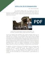 Ernesto Castillo Paez y Los 16mil Desaparecidos