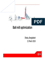 Ball Mill Audit and Optimization