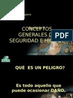 Cap. 008 - Inducción General en Seguridad e Higiene Minera - CAP.03.- CONCEPTOS de SEGURIDAD -IsEM