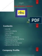 NBC Bearings Training ppt