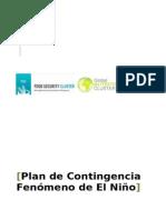 Plan de Contingencia Fenomeno Del Niño 2014rev Unicef