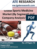 Global Sports Medicine Market to 2020