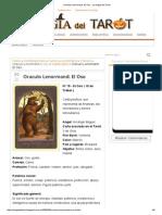 Oraculo Lenormand_ El Oso - La Magia Del Tarot