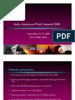 Indo-American Print Summit 2008, New Delhi, India