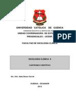 Modulo Sicologia Clinica II