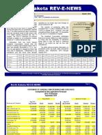 North Dakota Revenues October 2015