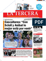 Diario La Tercera 23.10.2015