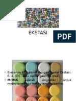 EKSTASI & FENOBARBITAL