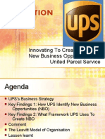 Innovating To Create IT-Based New Business Opportunities at UPS