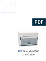 Kip Starprint 6000 User Guide