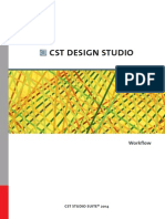 Cst Design Studio - Workflow
