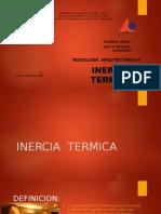 INERCIA  TÉRMICA