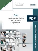 INEE Guía para la elaboración de la Ruta de Mejora Argumentada Director de Secundaria