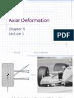 Axial Deformation 1