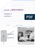 Axial Deformation 1