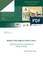 Manual de Certificación Orgánica