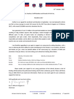 2016 Marathon Second Appeal Letter