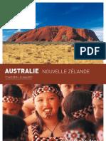 Brochure sur L'Australie et la Nouvelle Zélande par AustralieTours 2010/11