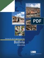 Evaluacion Del Programa de Pais Bolivia 2011-2015