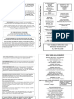 St Felix Catholic Parish Newsletter - 5th Week of Lent 2010