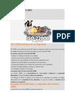 ISO 22000 Vs ISO 9001