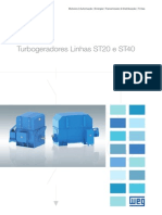 WEG Turbogeradores 50021177 Catalogo Portugues Br