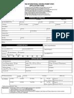 PIDP Membership Form