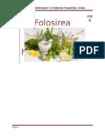 Hepatita Si Fitoterapia