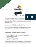 Instalación de Windows XP en Netbook