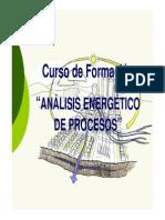 1 Curso Análisis Energéticos de Procesos 2015 Introdución