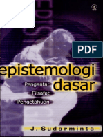 Estimologi Dasar Pengantar Filsafat Pengetahuan