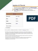 Historia Prehispánica de Tlaxcala