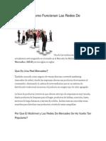 Que Son Y Como Funcionan Las Redes de Mercadeo
