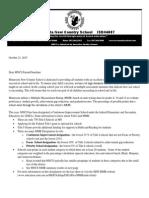 continuous improvement notification letter 2015-16