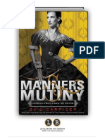 Manners and Mutiny (Finishing School #4) by Gail Carriger (PREVIEW)