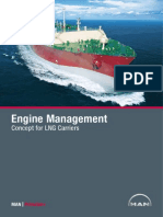 Engine Management Concept for Lng Carriers