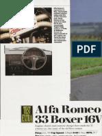 Alfa Romeo 33 1.7 16V Test