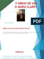 Vida y Obras de San Antonio Maria Claret