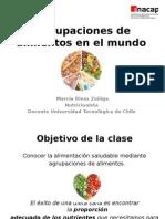 Agrupaciones de Alimentos en El Mundo