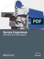 Service Experience Small Bore Four Stroke Engines