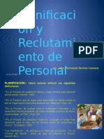 Planif y Reclut de PERSONAL