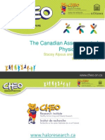 The Canadian Assessment of Physical Literacy